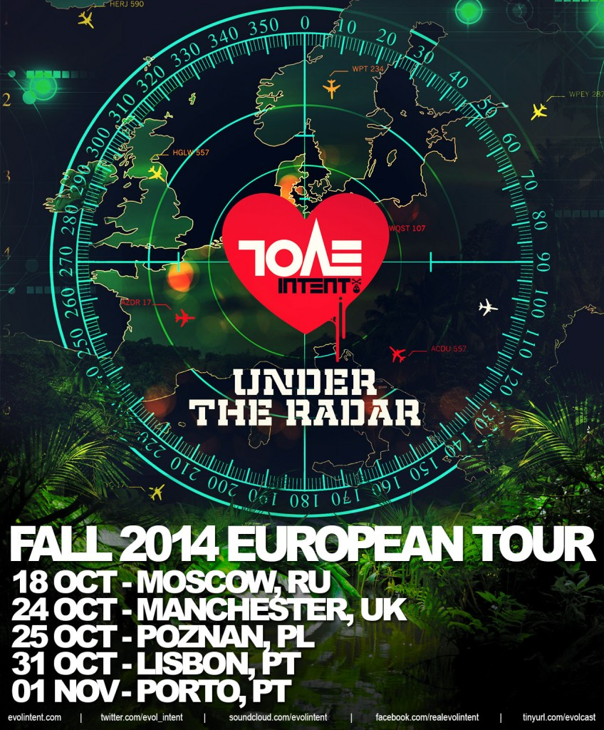 Under The Radar Fall 2014 European Tour